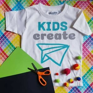 NWOT - Kids Create Graphic TShirt